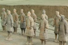 西安秦始皇陵兵马俑